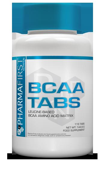 Амінокислоти BCAA Pharma First - BCAA (115 пігулок)