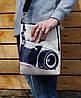 """Кожаная сумка через плечо """"Сон фотографа"""""""