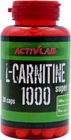 L-carnitine 1000 ActivLab 30 caps.