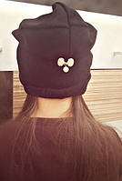 Детская шапка Брошка