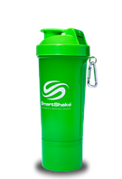 Шейкер SmartShake Slim Neon 400 ml, фото 1