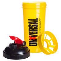 Шейкер Universal Nutrition - Universal Shaker (700 мл) желтый
