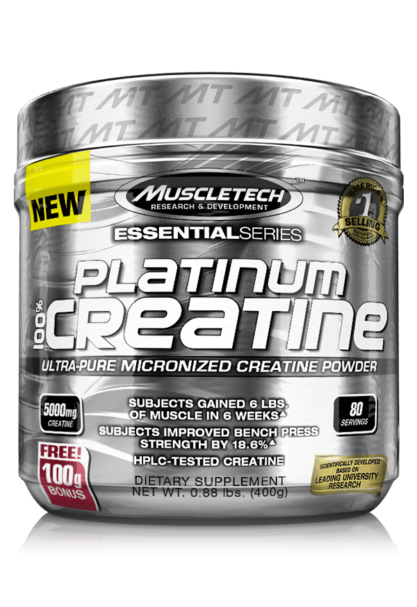 Platinum Creatine MuscleTech 500 грамм