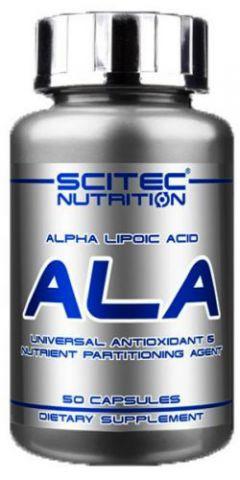 Альфа-липоевая кислота Scitec Nutrition - Alpha Lipoic Acid ALA (50 капсул)