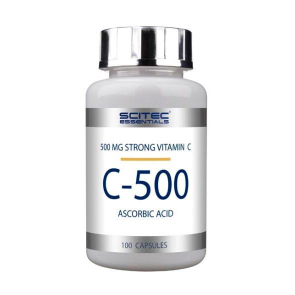 Vitamin C-500 Scitec Nutrition 100 caps.