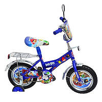 Детский велосипед Mustang ANGRY BIRD (12-дюймов), синий***