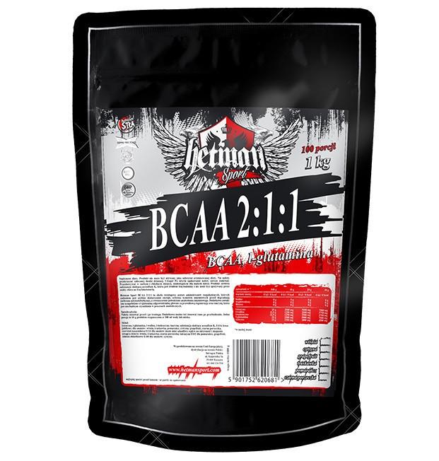 Hetman Sport - BCAA 2:1:1 (1000 грамм) grapefruit/грейпфрут