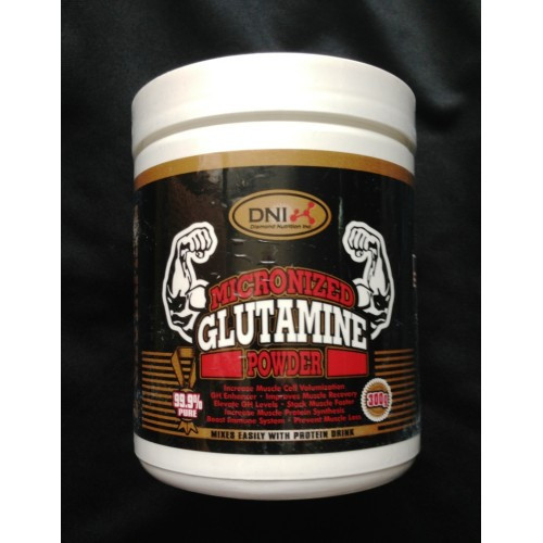 DNI Micronized Glutamine Powder 300 грамм