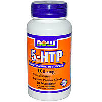 5-ХТП Гидрокситриптофан Now Foods 5-HTP 100 mg 60 капс