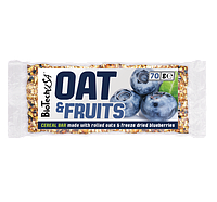 Батончик BioTech - Oat & Fruits (70г) черника