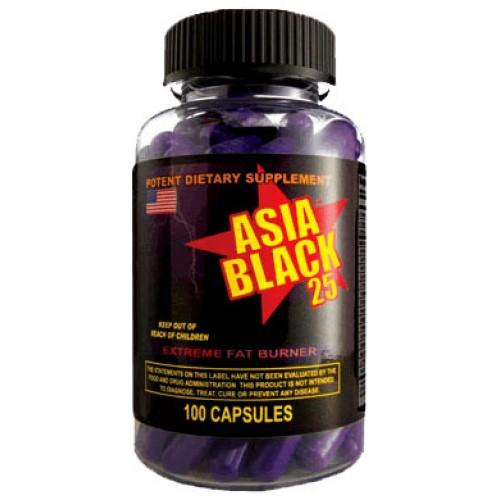 Asia Black 25 Ephedra Cloma Pharma 1 капсула