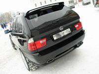 Спойлер на крышу (ляда) BMW X5 1999-2010