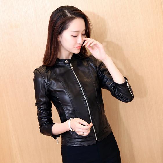 Женская кожаная куртка. Модель 1153