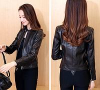 Женская кожаная куртка. Модель 1153, фото 2