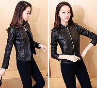 Женская кожаная куртка. Модель 1153, фото 3