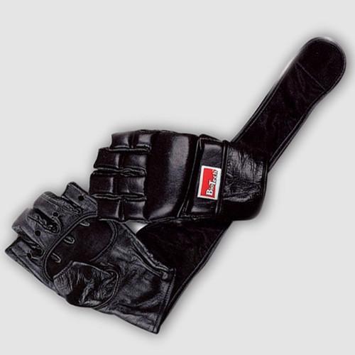 Houston long strap Black Biotech USA кожаные перчатки