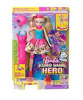 Кукла Барби на светящихся роликах из серии Героиня видеоигр Barbie Mattel