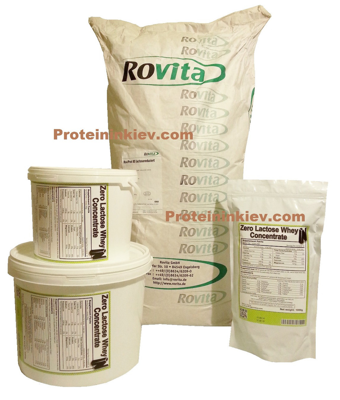 Безлактозный протеин на развес Rovita Roviprot 80 LF (Германия) 20 кг - оптовая цена