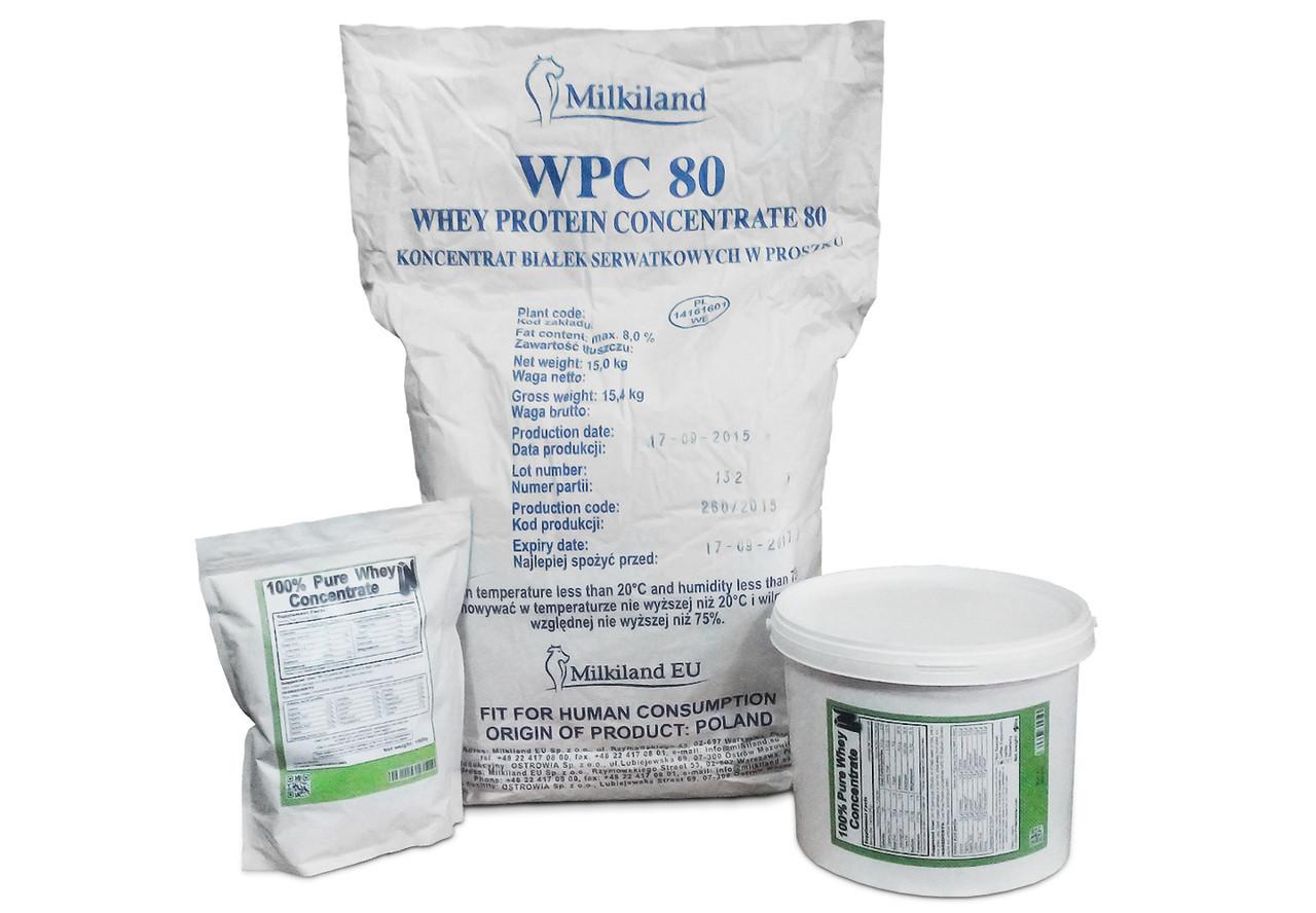 WPC 80 Milkiland Ostrowia (протеїн на вагу Мілкіленд Островія Польща) 15 кг мішок