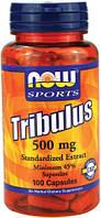 Трибулус Now Foods - Tribulus 500 мг (100 капсул)