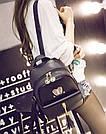 Рюкзак женский стильный с ушками и кисточками., фото 3