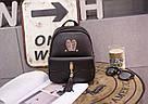 Рюкзак женский стильный с ушками и кисточками., фото 2