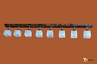 Потолочная люстра спот из дерева ISFIR 724