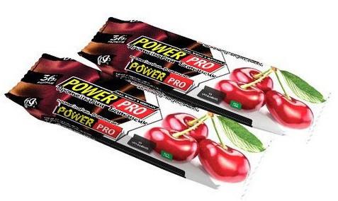 Протеиновый батончик Power Pro - Protein 36% (60 грамм) вишня в шоколаде