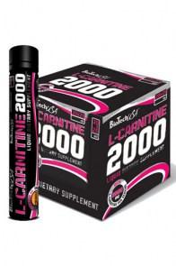 L-Carnitine Ampule 2000 mg BioTech USA 1 ампула x25 ml