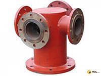Гидранты Подставка пожарная стальная Ду 100 мм крестообразная