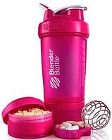 Шейкер BlenderBottle ProStak розовый 22 oz / 650 мл