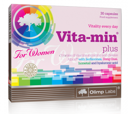 Vita-min Plus for Women Olimp Labs 30 caps.