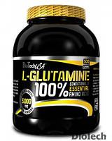 Глютамин BioTech - 100% L-Glutamine (240 грамм)