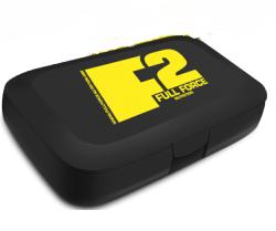 Таблетница Full Force - Pill Box черная