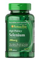 Селен Puritan's Pride - Selenium (250 таблеток)