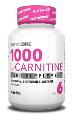 L-Сarnitine 1000 Nutricore 60 tabs.