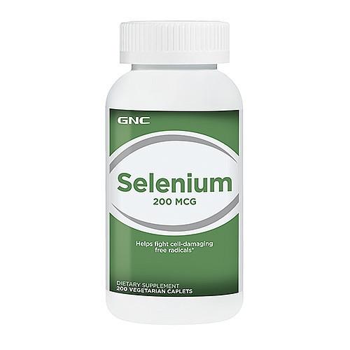 Selenium 200 mcg GNC 200 tabs.
