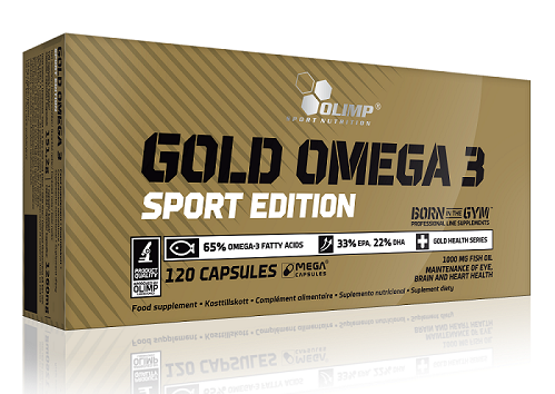 Омега Olimp Labs - Gold Omega 3 Sport Edition (120 капсул)
