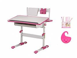 Стол BD-203 white / pink
