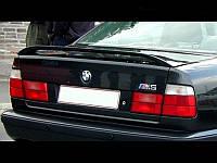 Спойлер на крышку багажника (М) BMW Е34