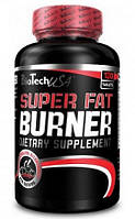 Super Fat Burner Biotech USA 120 tabs.