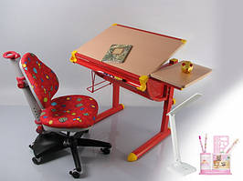 Детский стол BD-1122 (с набором) maple