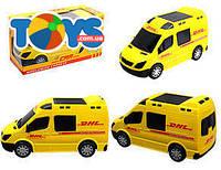Машина на батарейках серии «Почта», 874