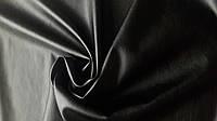 Ткань Искусственная стрэйч кожа Черная
