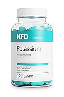 Potassium KFD Nutrition 120 tabs.