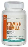Vitamin C Formula Universal Nutrition 500 mg 100 tabs.