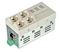 Микро-коммутатор Microsens MS450186M-G5 (6x100/1000Base-T)