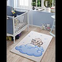 Ковер в детскую комнату Confetti Baby Elephant (01 голубой) 100*150