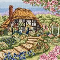 """Набор для вышивания """"Коттедж с розами (Rose Cottage)"""" ANCHOR"""