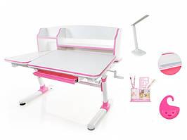 Детский стол Evo-Kids Darwin 2 Pink